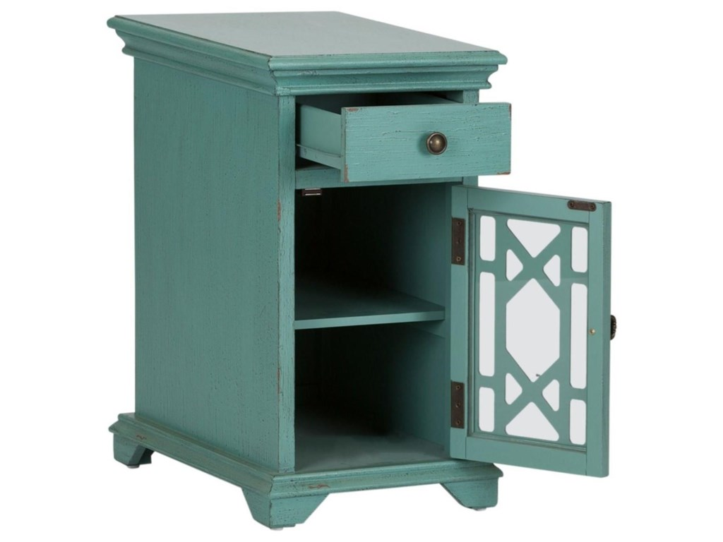 Liberty Furniture Ashvale1 Drawer 1 Door Accent Cabinet