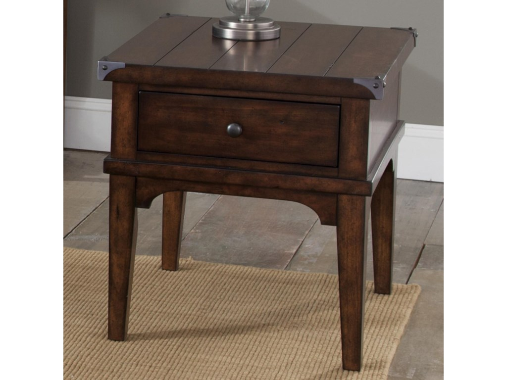 Sarah Randolph Designs Aspen SkiesEnd Table