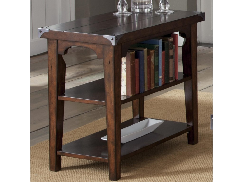 Liberty Furniture Aspen SkiesChairside End Table