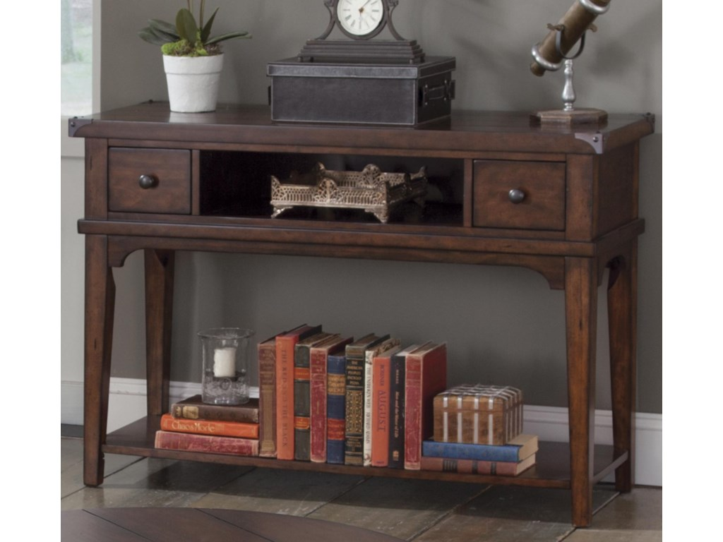 Liberty Furniture Aspen SkiesSofa Table