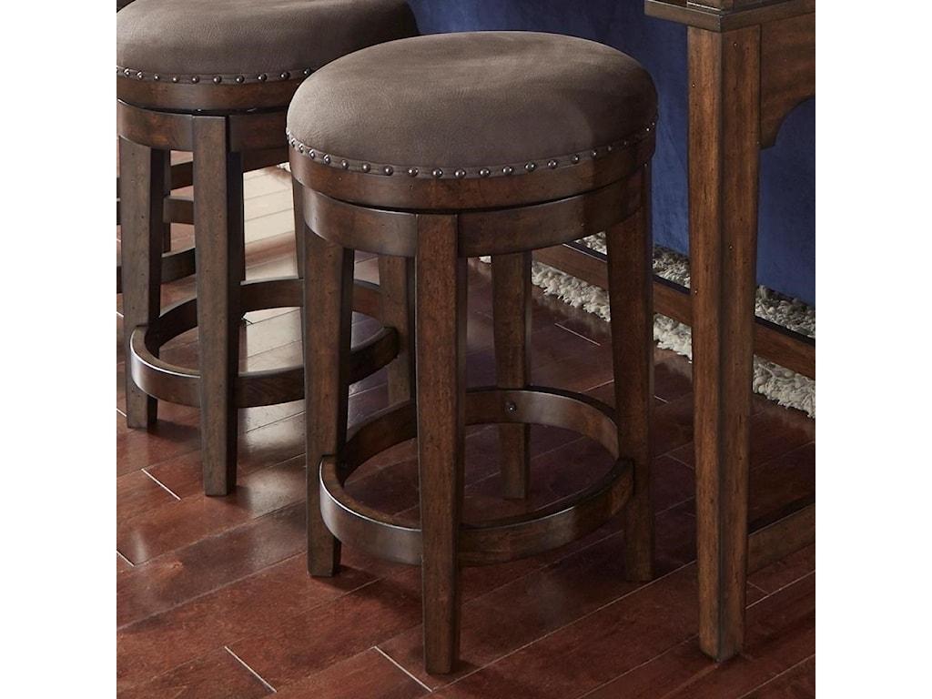 Liberty Furniture Aspen SkiesSwivel Barstool