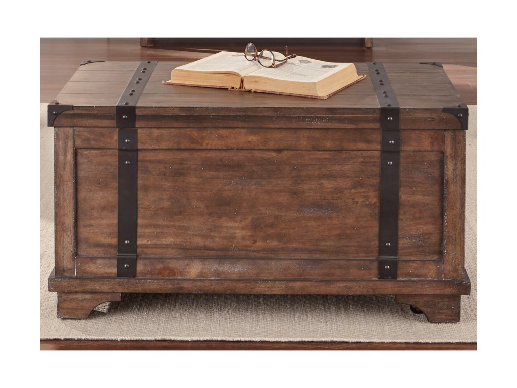 Liberty Furniture Aspen SkiesStorage Trunk