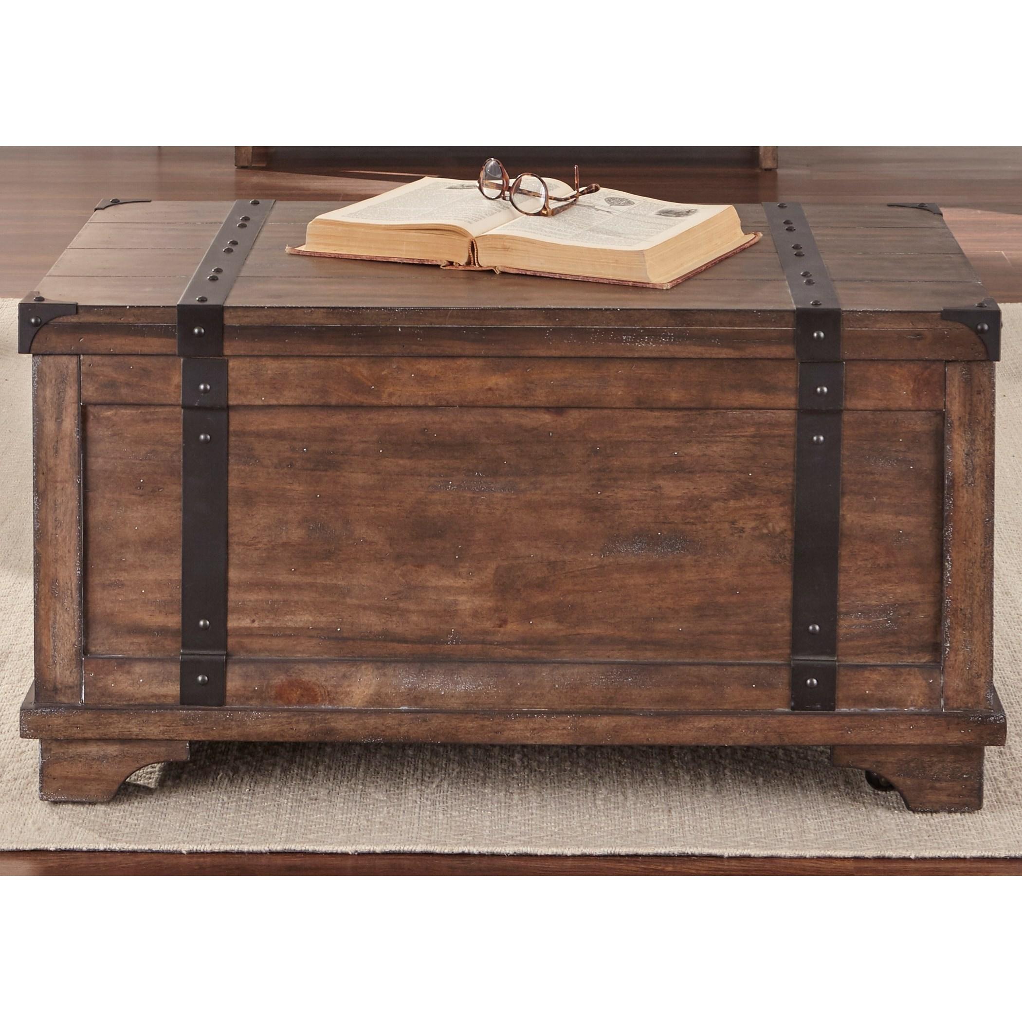Liberty Furniture Aspen SkiesStorage Trunk ...