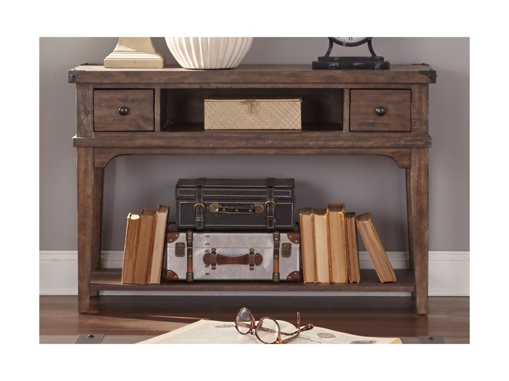 Liberty Furniture Aspen SkiesSofa Table
