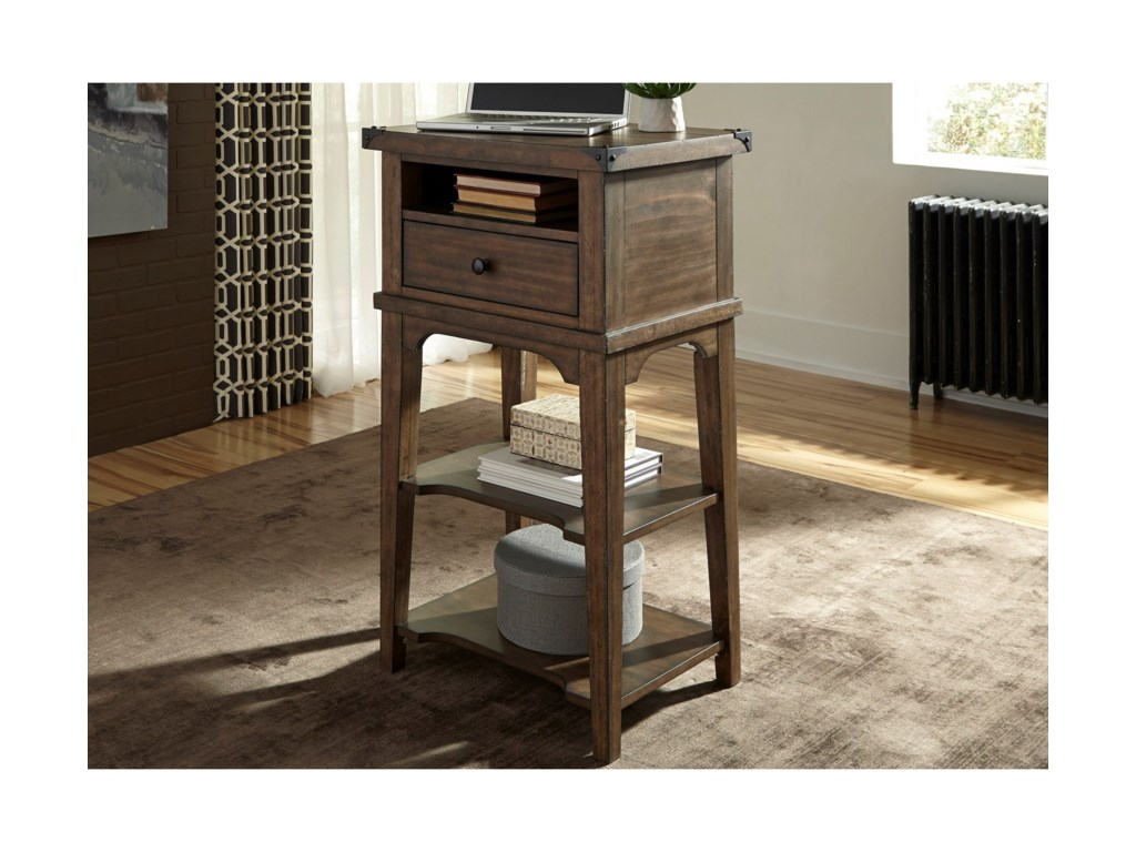 Liberty Furniture Aspen SkiesStand Alone Laptop Desk