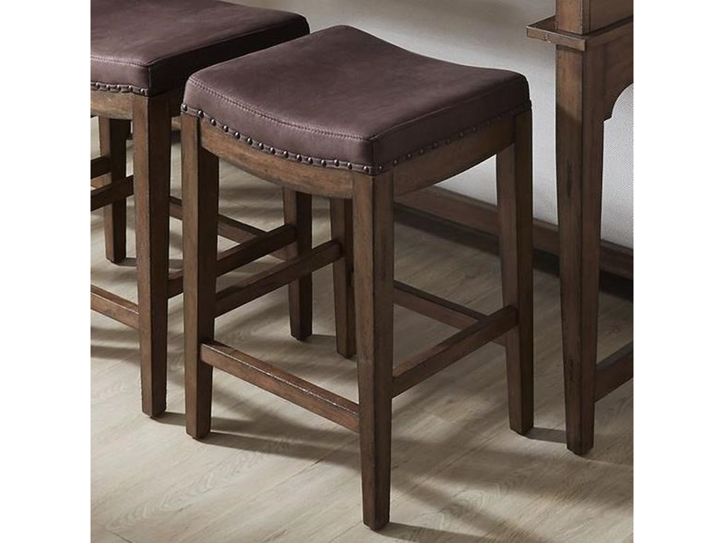 Liberty Furniture Aspen SkiesUpholstered Barstool
