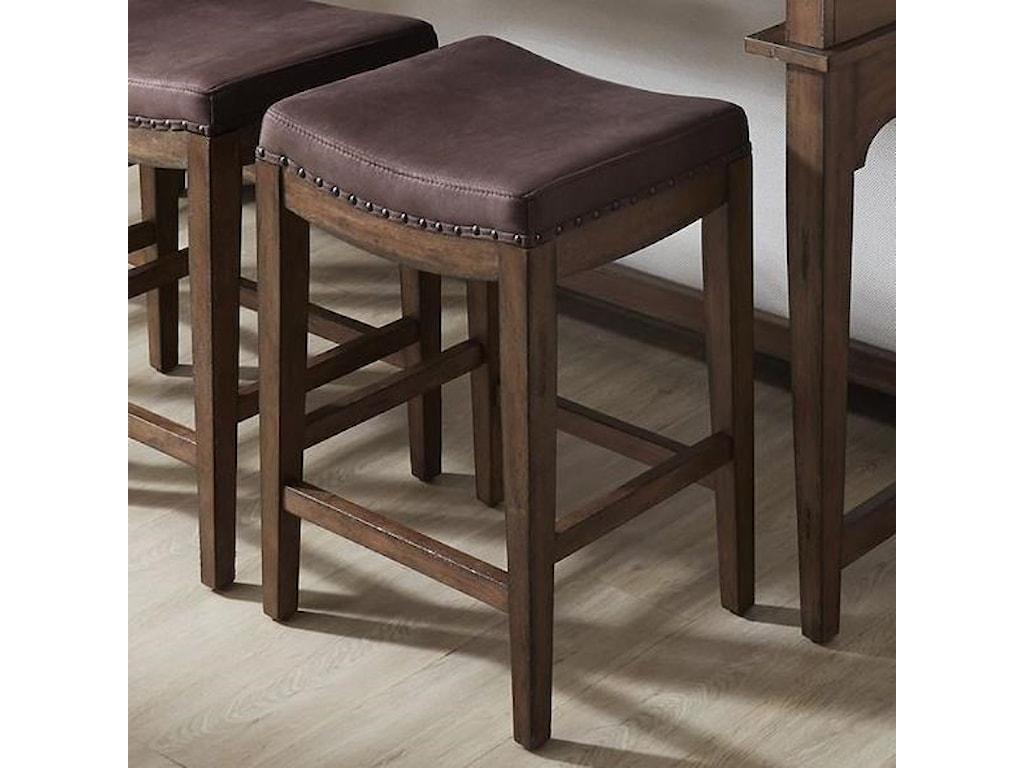 Liberty Furniture Aspen SkiesUpholstered Barstool