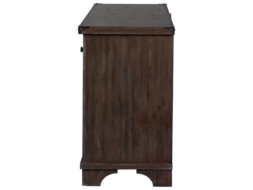 Liberty Furniture Aspen SkiesTV Console