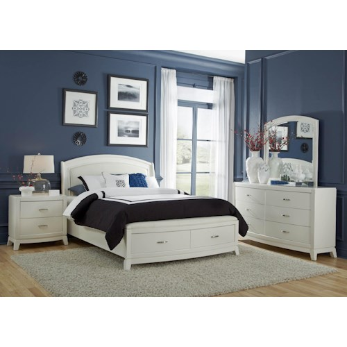 Liberty Furniture Avalon II 4PC King Storage Bedrom Set