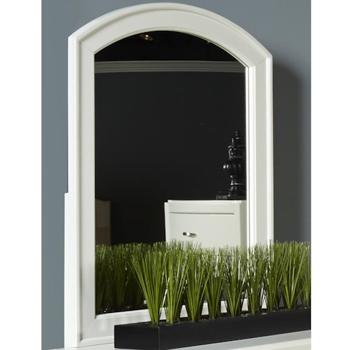 Liberty Furniture Avalon II Mirror with Arched Frame