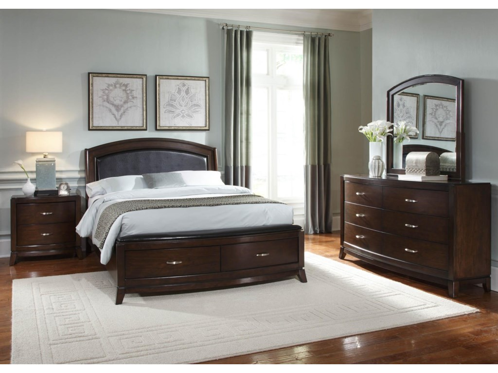 Liberty Furniture Avalon5 Piece Queen Bedroom Group