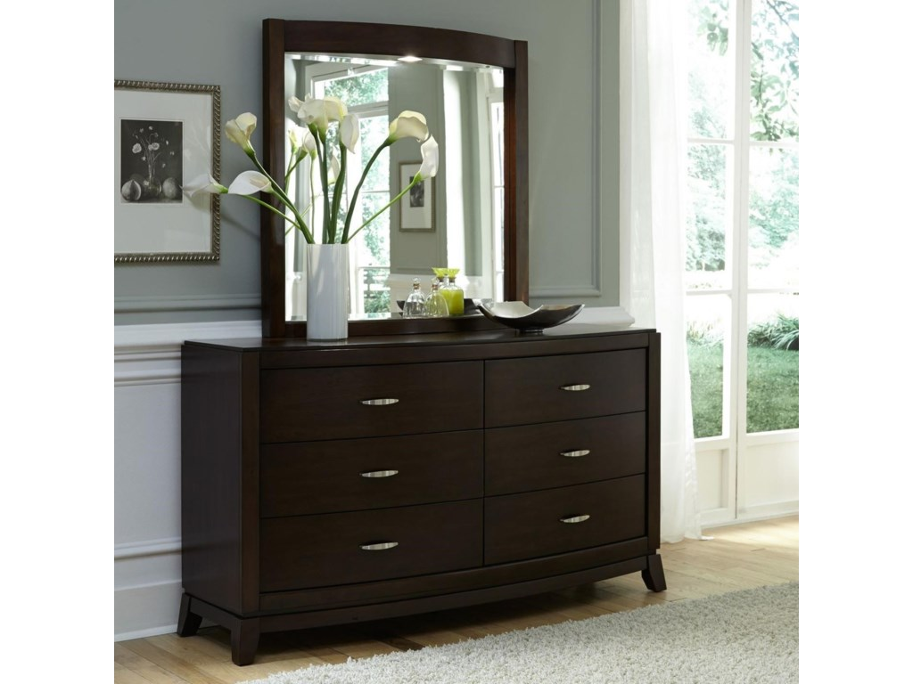 Liberty Furniture AvalonOpt Dresser & Mirror