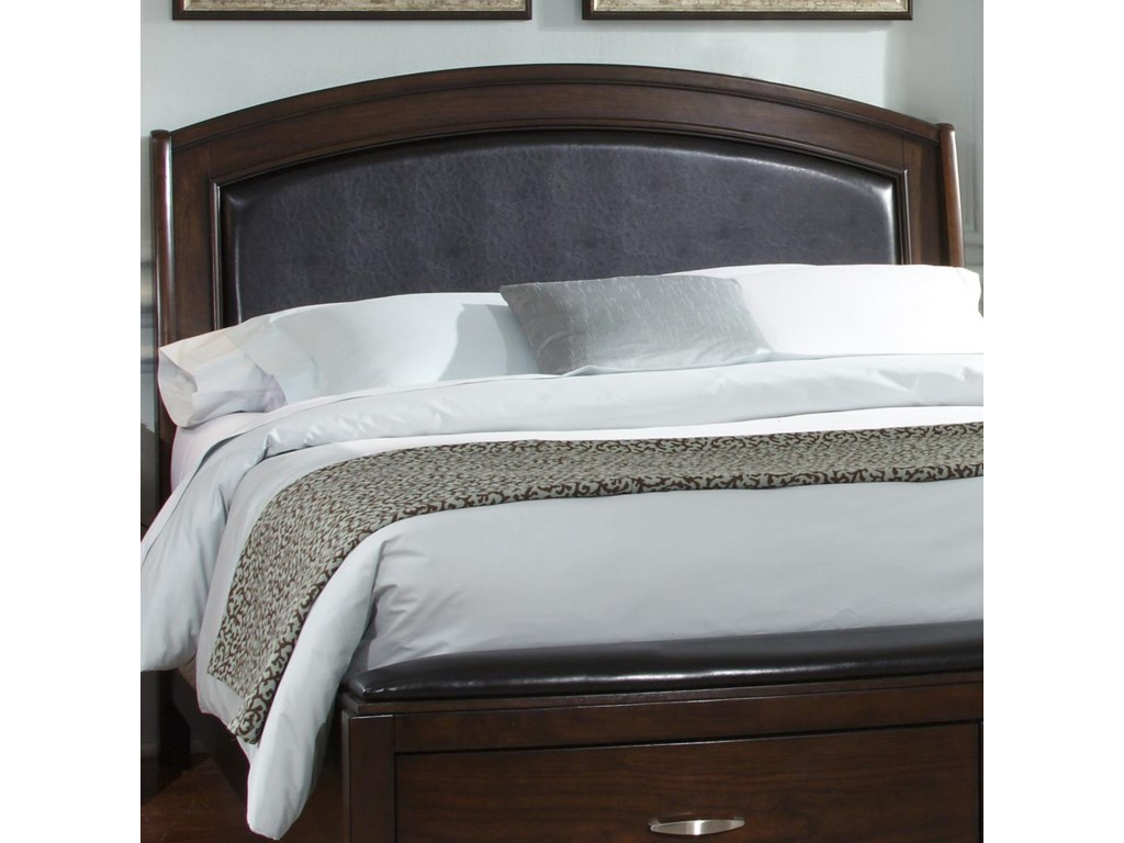 Liberty Furniture AvalonQueen Platform Leather Headboard