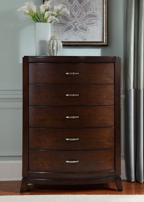 Liberty Furniture Avalon 5 Drawer Chest with Dovetail Drawers