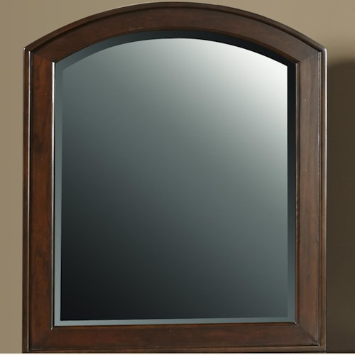 Liberty Furniture Avalon Mirror with Arched Frame