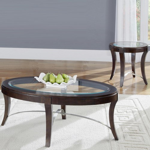 Liberty Furniture Avalon Three-Piece Occasional Table Set