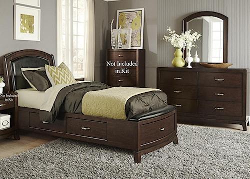 Liberty Furniture Avalon Full Storage Bedroom Group 1
