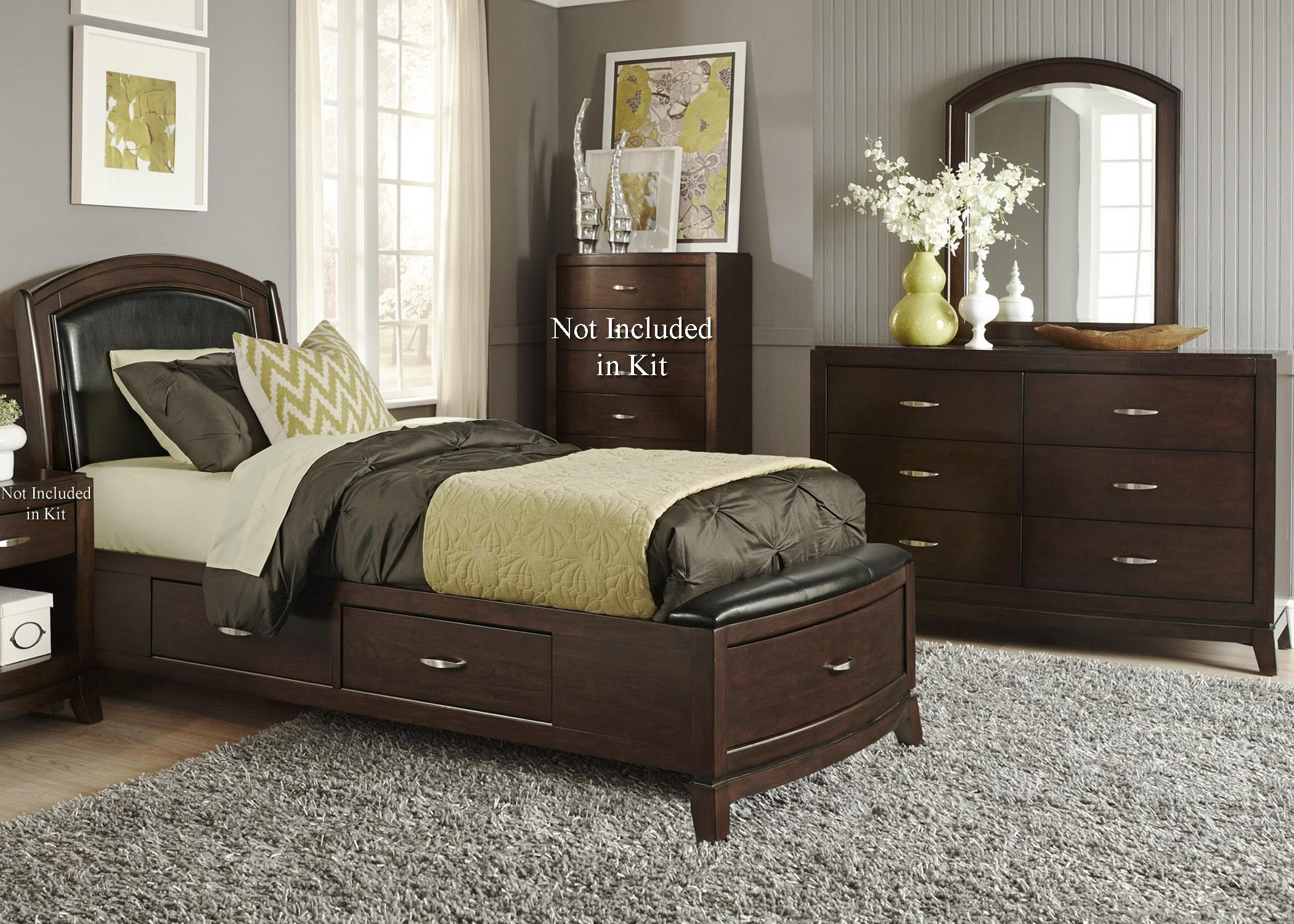 Liberty Furniture Avalon Full Storage Bedroom Group 1