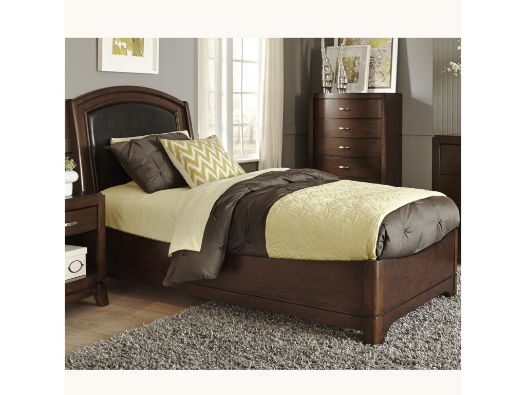 Liberty Furniture AvalonTwin Leather Bed