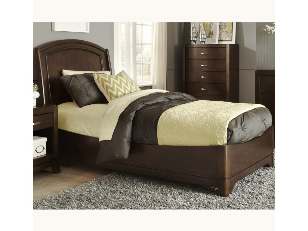 Liberty Furniture AvalonFull Platform Bed