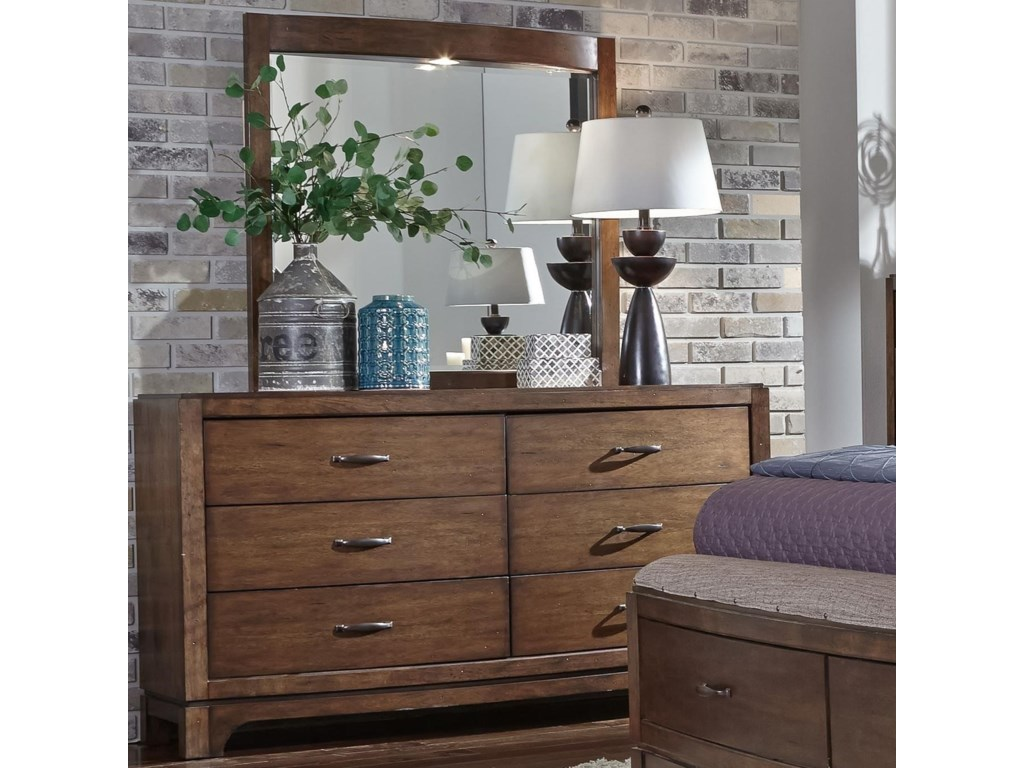 Liberty Furniture Avalon IIIOpt Dresser & Mirror