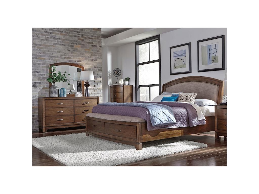 Liberty Furniture Avalon IIIQueen Bedroom Group