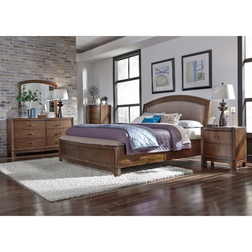 Liberty Furniture Avalon III Queen Bedroom Group