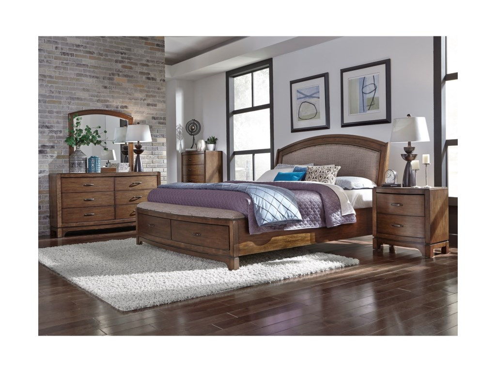 Liberty Furniture Avalon IIIQueen Bedroom Group