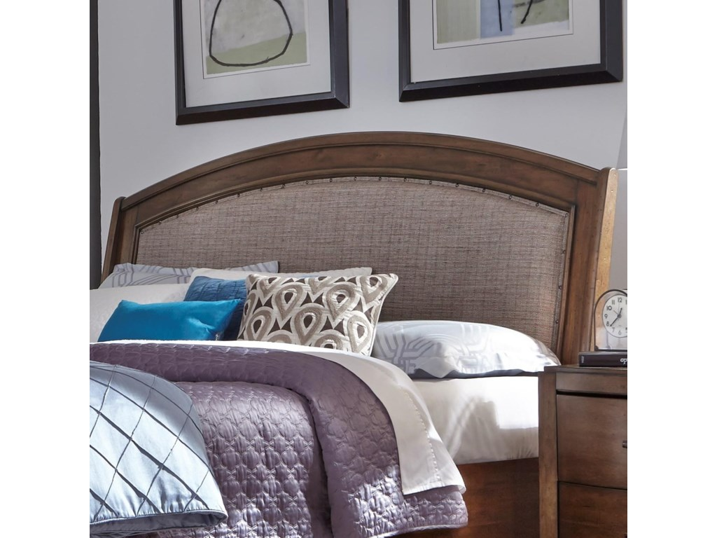 Liberty Furniture Avalon IIIQueen Upholstered Headboard