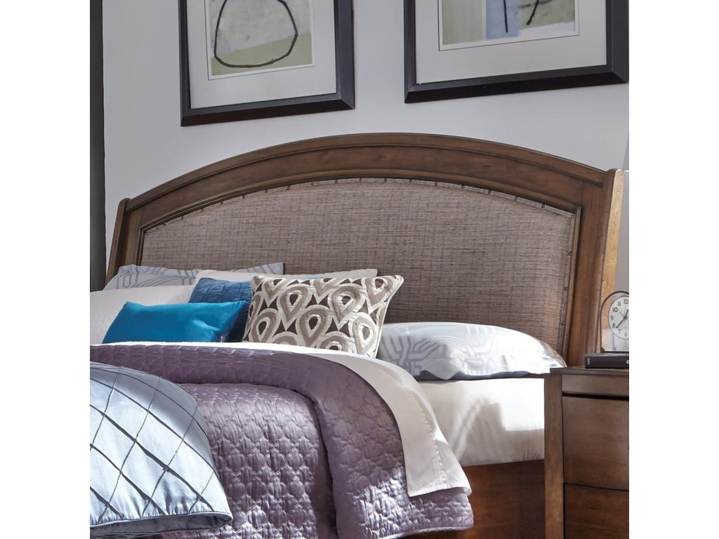 Liberty Furniture Avalon IIIKing Upholstered Headboard