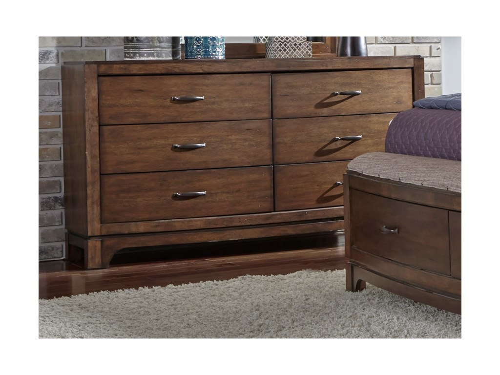 Liberty Furniture Avalon III6 Drawer Dresser