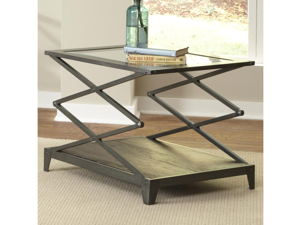 Sarah Randolph Designs AvignonScissor-Lift End Table