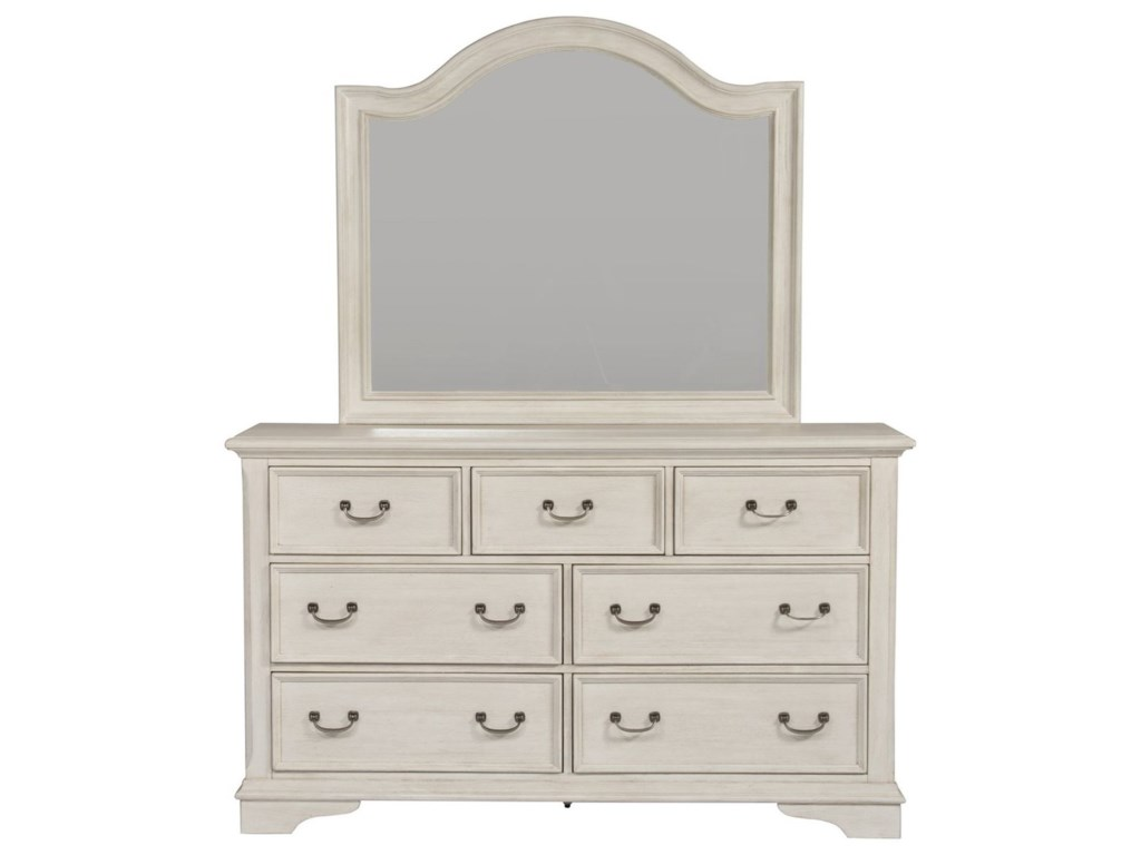 Liberty Furniture Bayside BedroomDresser & Mirror