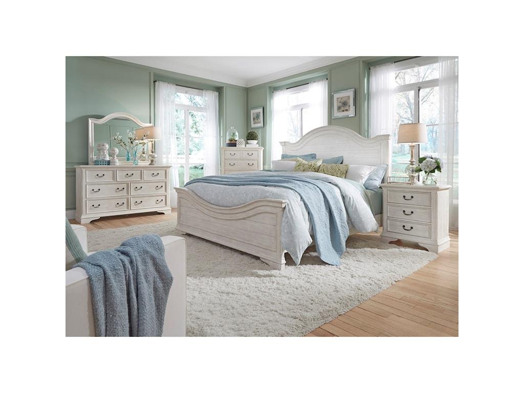 Liberty Furniture Bayside BedroomKing Panel Bed