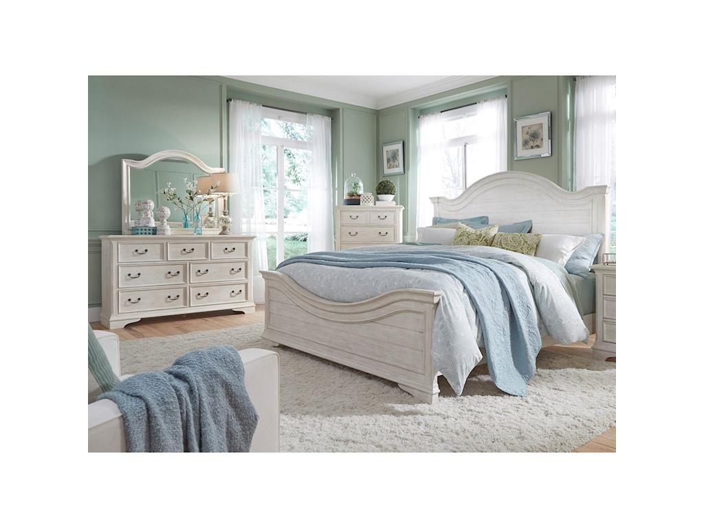 Liberty Furniture Bayside BedroomQueen Panel Bed