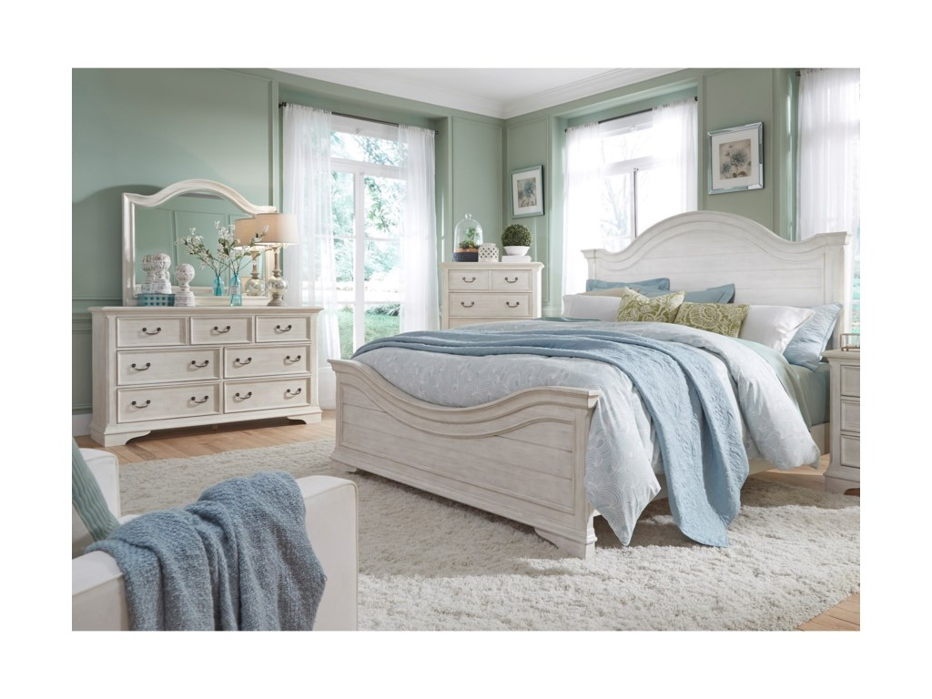 Shown With Matching Bedroom Group. Bed Shown May Not Represent Size Indicated.