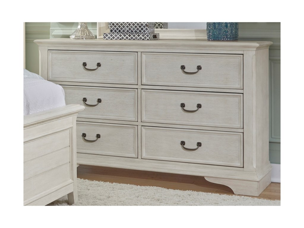Liberty Furniture Bayside Bedroom6 Drawer Dresser