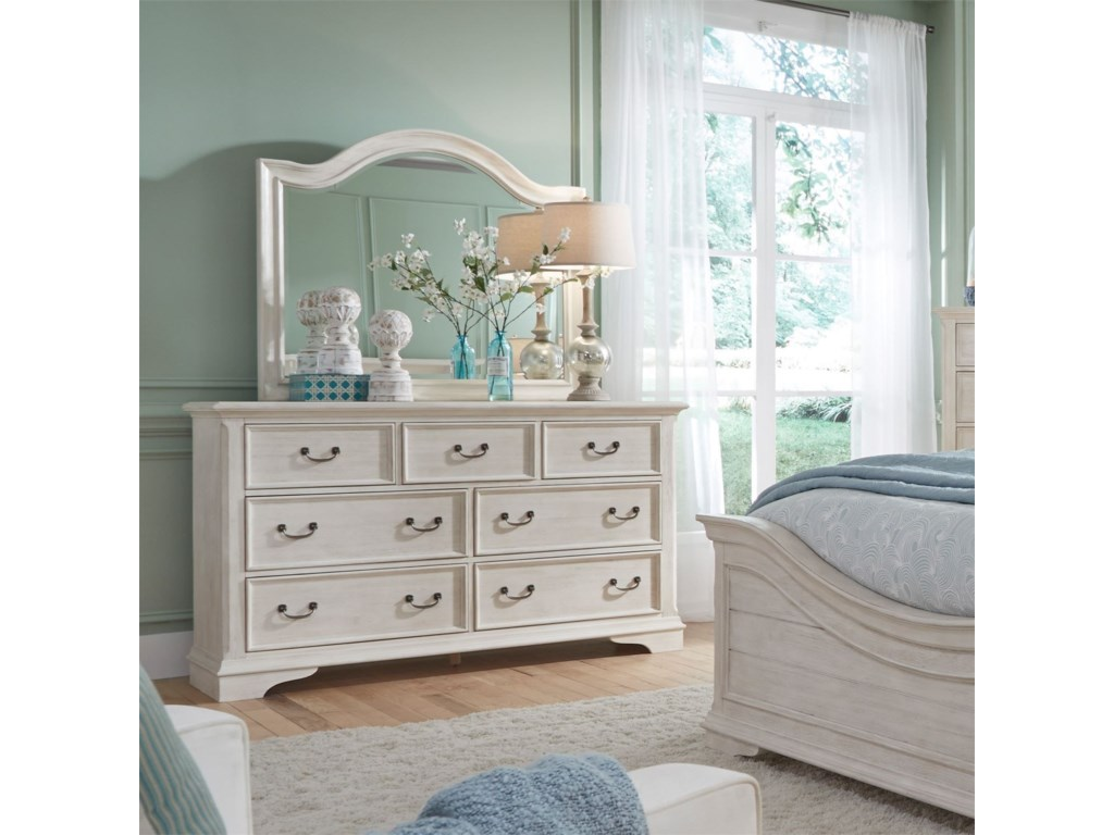 Liberty Furniture Bayside BedroomArched Mirror