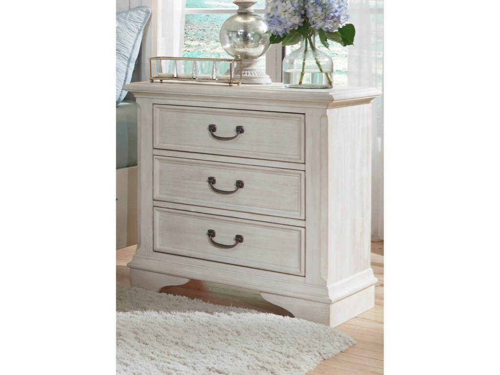 Liberty Furniture Bayside Bedroom3 Drawer Night Stand
