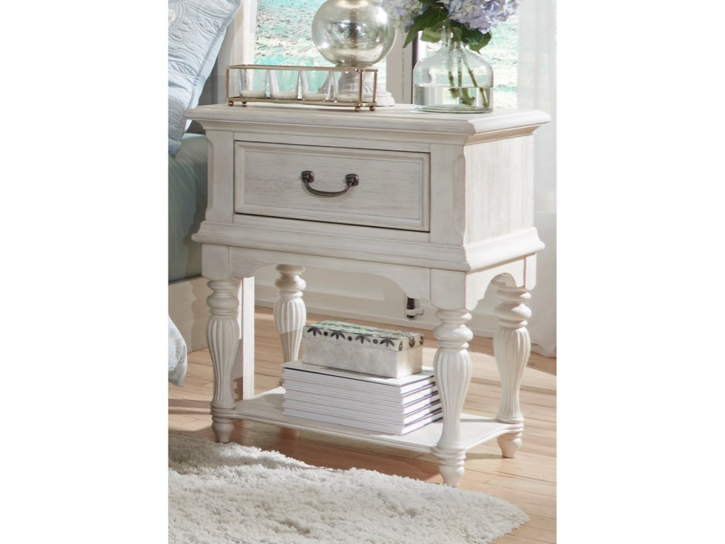 Liberty Furniture Bayside BedroomLeg Night Stand