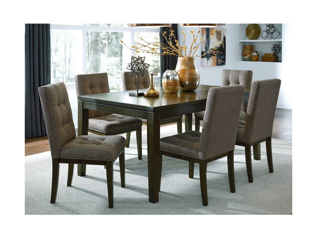 Liberty Furniture Belden PlaceTable and Upholstered Chair Set