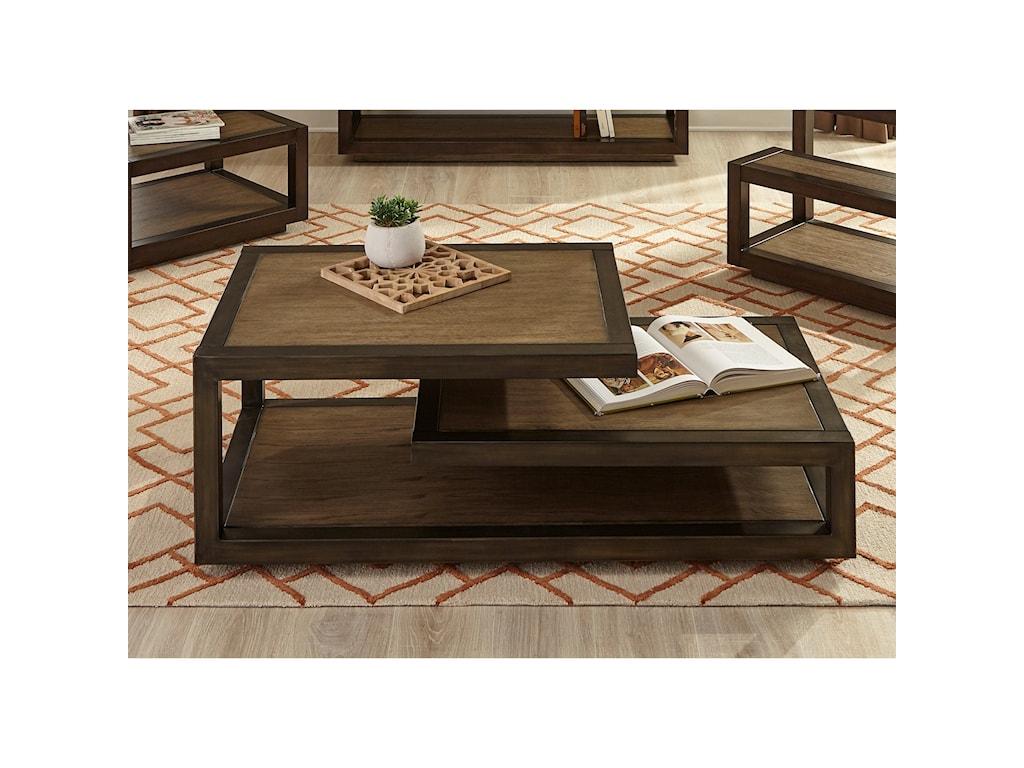 Liberty Furniture Bennett PointMid-Century Modern Cocktail Table