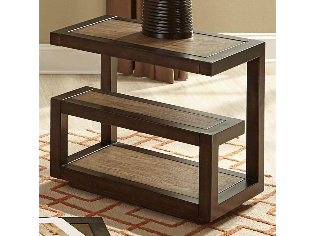 Liberty Furniture Bennett PointMid-Century Modern Chair Side Table