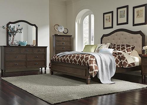 Liberty Furniture Berkley Heights Queen Bedroom Group