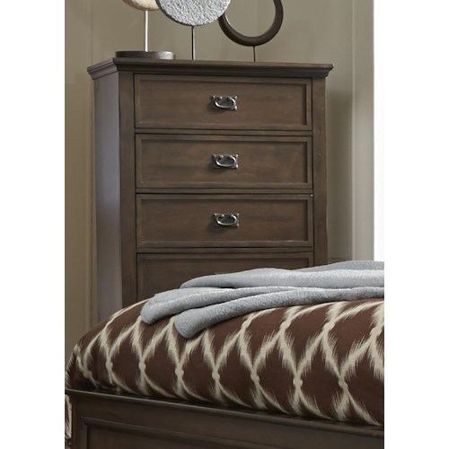 Liberty Furniture Berkley Heights Chest with Five Dovetail Drawers