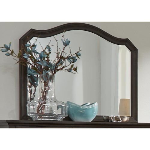 Liberty Furniture Berkley Heights Mirror with Wood Frame