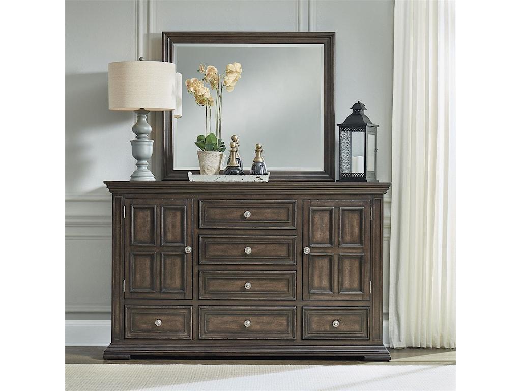 Liberty Furniture Big Valley2-Door 6-Drawer Dresser