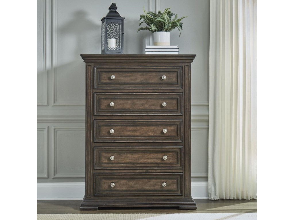 Liberty Furniture Big Valley5-Drawer Chest