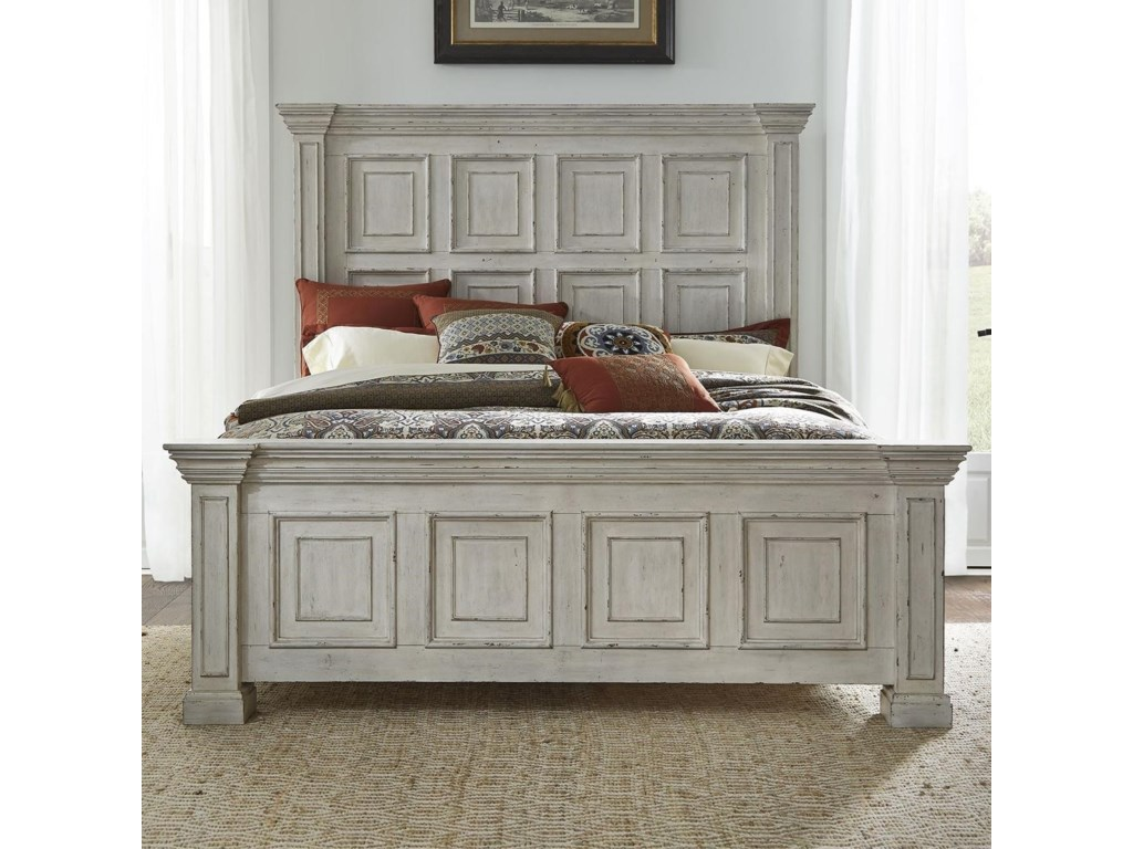 Liberty Furniture Big ValleyKing Panel Bed