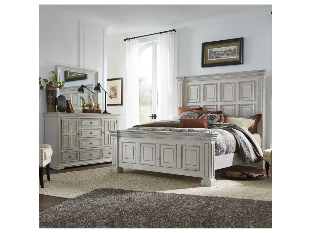Liberty Furniture Big ValleyKing Bedroom Group